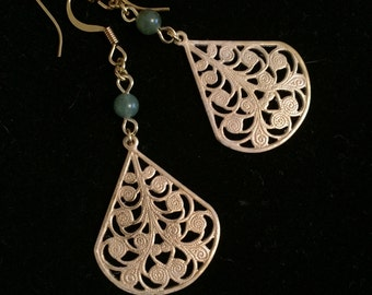 filagree earrings I