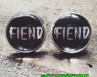 Fiend Stud Earrings