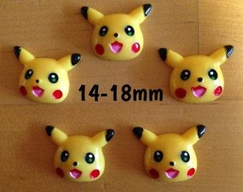 14mm-16mm-18mm Pikachu Pokemon plugs