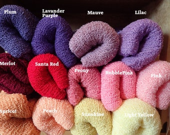 Baby Swaddle Photo Prop-Newborn Wrap  –  Stretch Knit Baby Wrap Newborn Prop– Newborn  Photography Wrap - 5 knits/10 knits photographer Deal