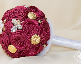 "Bridal bouquet brooch bouquet ""Rosalia"""