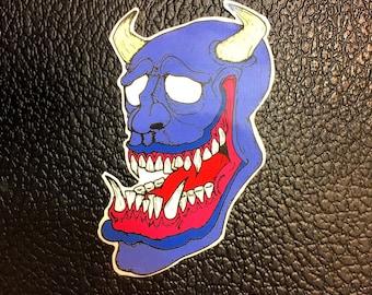 Oni Mask Etsy