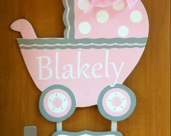 Birth Announcement, Hospital Announcement, Baby Girl, Baby Boy, Welcome Baby Girl