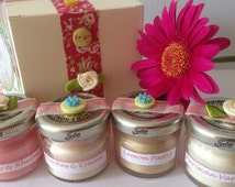 Small Jar Candles. Mini jar candles, tiny candles, cute candles, pick n mix candles, hen party gift, baby shower gift, wedding favours