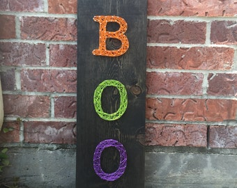 MADE TO ORDER - Boo String Art