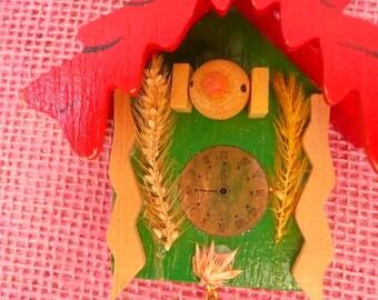 Vintage Coo Coo Clock Ornament