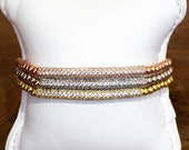 bar bracelet cubic zirconia