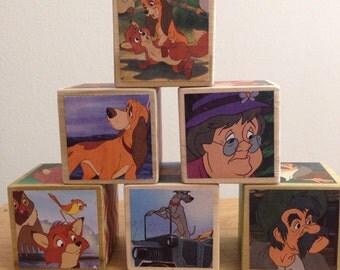 Fox and the Hound storybook blocks