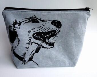 "8""x10"" Zipper Pouch *Smiling Dog*"
