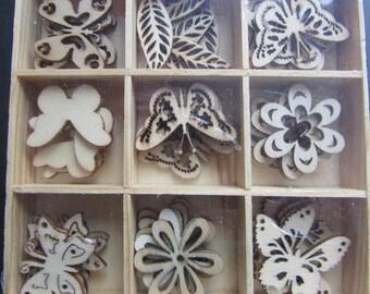 Wooden Garden Card Toppers
