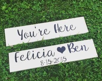 Wedding Sign Set