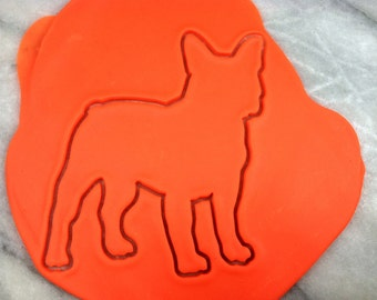 French Bulldog Cookie Cutter - SHARP EDGES - FAST Shipping - Choose Your Own Size!