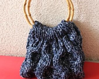 Knitted bag Malaga