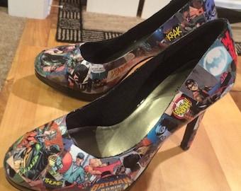 Superhero Heels