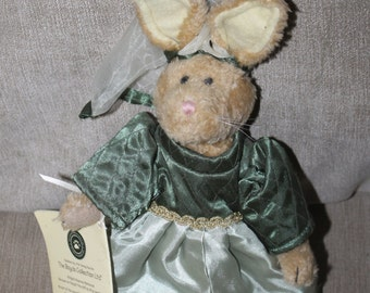 Vintage Boyds Bear Rabbit, Early 90s w Tags, Bailey & Friends Collection, Emily Rabbit, w Her Own Book, Original Clothing, EASTER GIFT