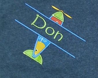 Boy's Airplane Shirt