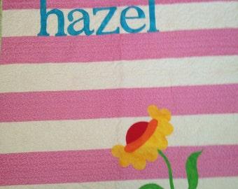 Personalized Children's Quilt