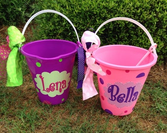 2-Personalized Beach pail