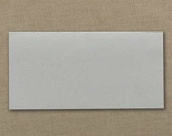 Silver Wedding Place Cards Blank (Set of 50) Wedding Supplies