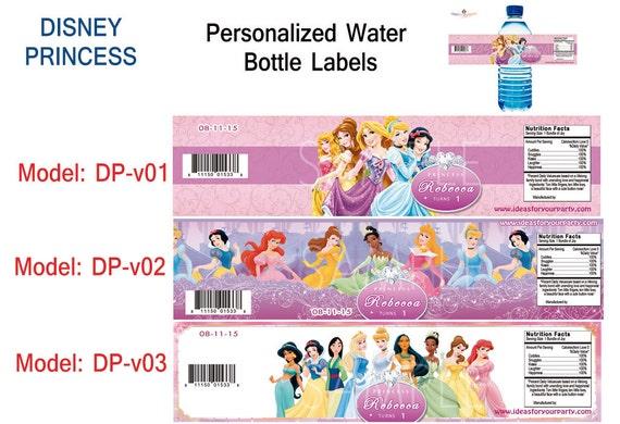 Disney Princess 5 pc Water