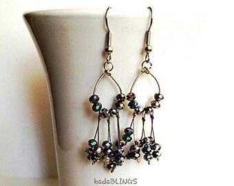 Glimmering Glass earrings