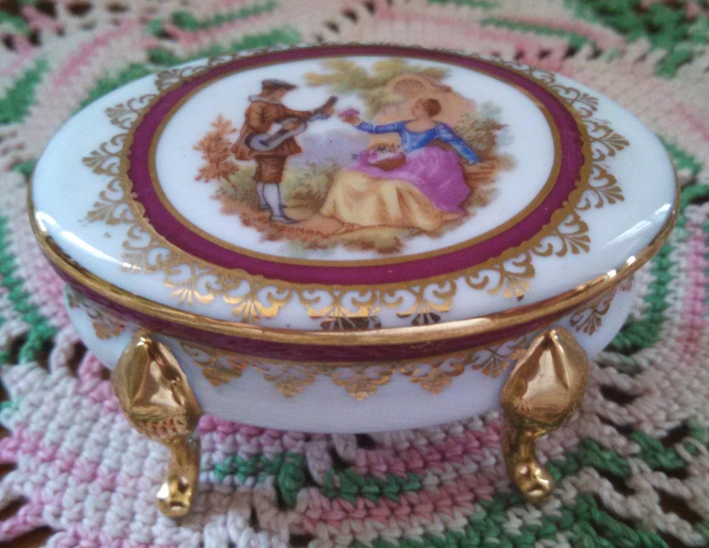 Vintage porcelain limoges edite par gout de ville for Piscine limoges