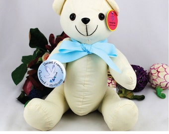 Personalised Naming Day/ Christening Signature Bear