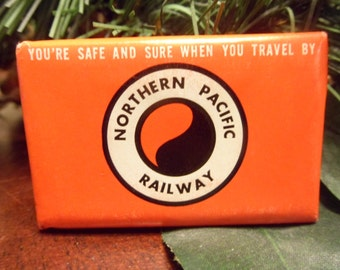 Un Opened  Northern Pacific Railway, Railroad Bar Of Soap, Never Used