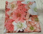 "Napkins. Decoupage. Set of 3 piece - Beautiful decoupage napkins - ""Vintage Love Rose "" 3 paper napkins"