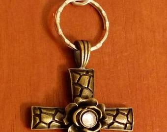 Cross Key Chain