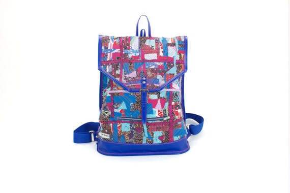upcycling backpack girls