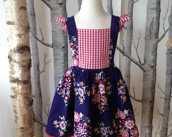 Beautiful summer dress/skirt/dress from Amy Butler fabric