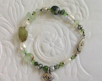 Green Garnet Joy Bracelet