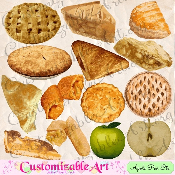 Apple Pie Turnover Apple Pie Clipart Digital