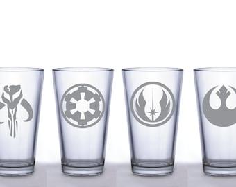 Star Wars Set of 4 Pint Glasses