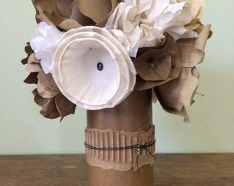 Cardboard tubes etsy for Cardboard tube flowers