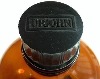 Large Vintage Upjohn Apothecary/Pharmacy Bottle