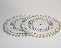 40-480 4mm faux Pearl bead Headpin Needle Pins