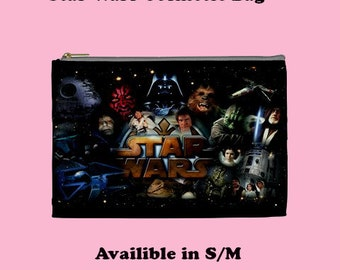 Star Wars   Cosmetic Bag, Cosmetic Bag, Make Up Bag, cosmetic, 70's , cult films, star wars, sci fi, 70's cult films