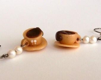 coffee handmade earrings limitededition
