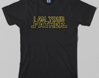 Star Wars Father T Shirt  - gift, darth vader, galaxy's greatest, dad, father's day, birthday, baby shower, sci fi, geek  All sizes & colors