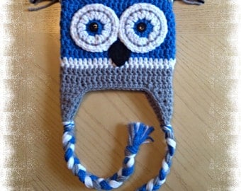 Square Owl Hat * Made to Order