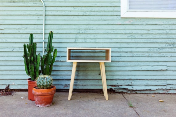 Modern Leggy Side Table