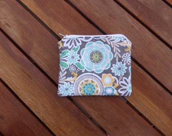Floral - Small Coin Purse