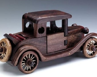 Model A Rumbleseat wood toys