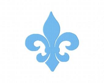 INSTANT DOWNLOAD. Heraldic Lily.Fleur de Lis. Lys. Iris. Sword. Embroidery Design.Digital file. pes, jef, sew, hus, tap, vip, vip3, xxx,exp.