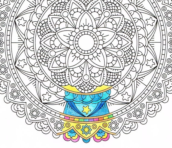 mandala coloring pages as therapy - photo#13
