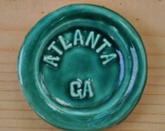 Atlanta, Ga  - Bottle Magnet