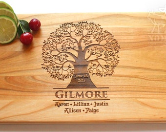 Puzzles Personalized Engraved Cutting Board Wood Cutting