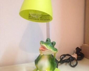Green Frog Desk Lamp